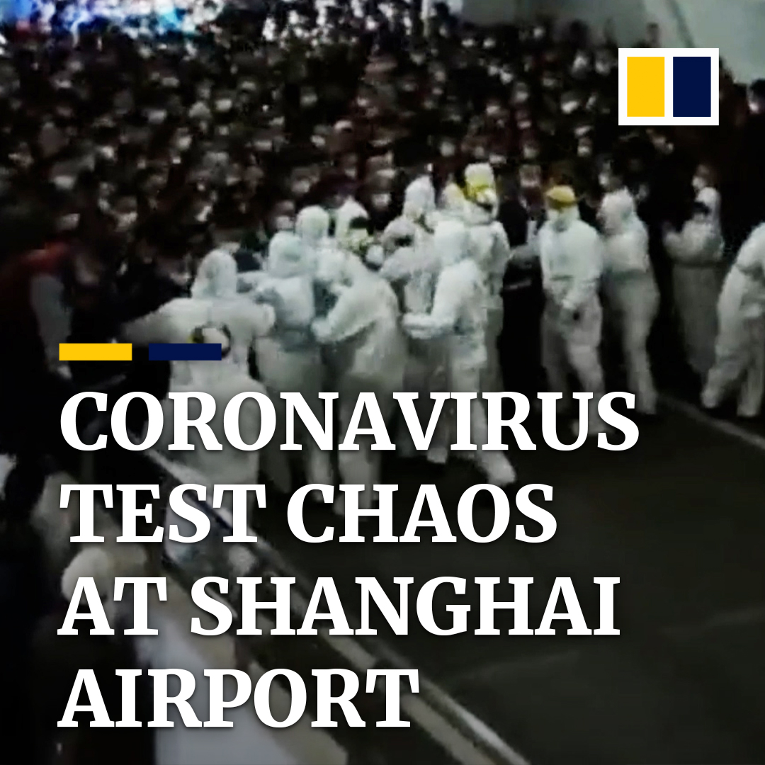 More than 17,700 airport workers were tested for Covid-19 in Shanghai. The sheer number reportedly overwhelmed the mass testing centre briefly. https://t.co/vY0ssGegfM