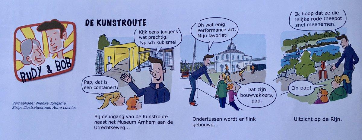 test Twitter Media - Wat een leuke mooie strip in wijkblad #Arnhem West  LangsRijn & Rails 🛤! En goede PR voor @MuseumArnhem #strip #museum #wijkblad #verbouwing https://t.co/FfMzorL1WA