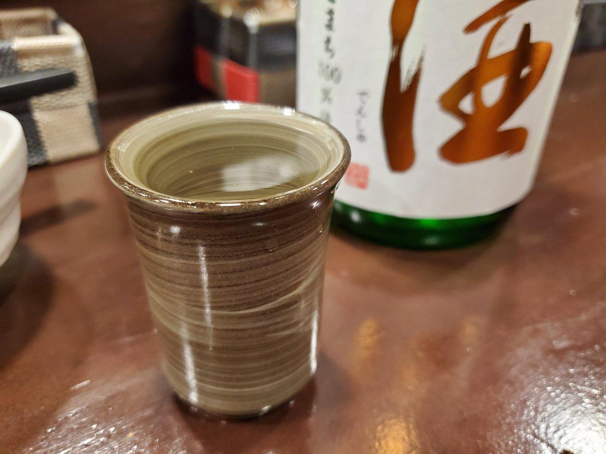 test ツイッターメディア - 西田酒造店 田酒 純米吟醸 秋田酒こまち あーーー旨い。 透明感のある米の甘みと感覚。やや発砲しての旨味。 しっかり口内に構える風味はこれぞ田酒。すばらなので😋 https://t.co/NMfloJhc3Z