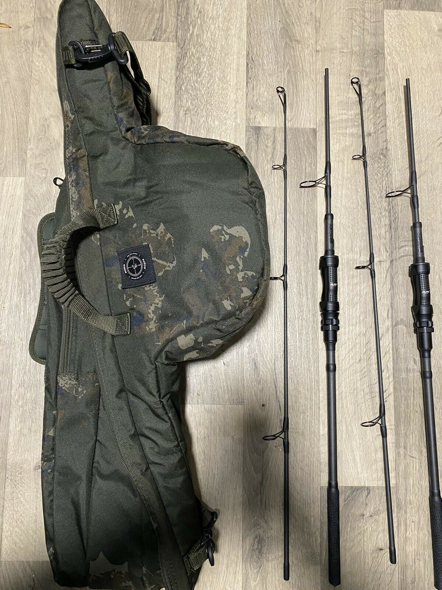 Ad - 2x Nash Scope Black Ops 6ft 3lb With Ops 2 Rod Skin On eBay here -->> https://t.co/2m4N8L