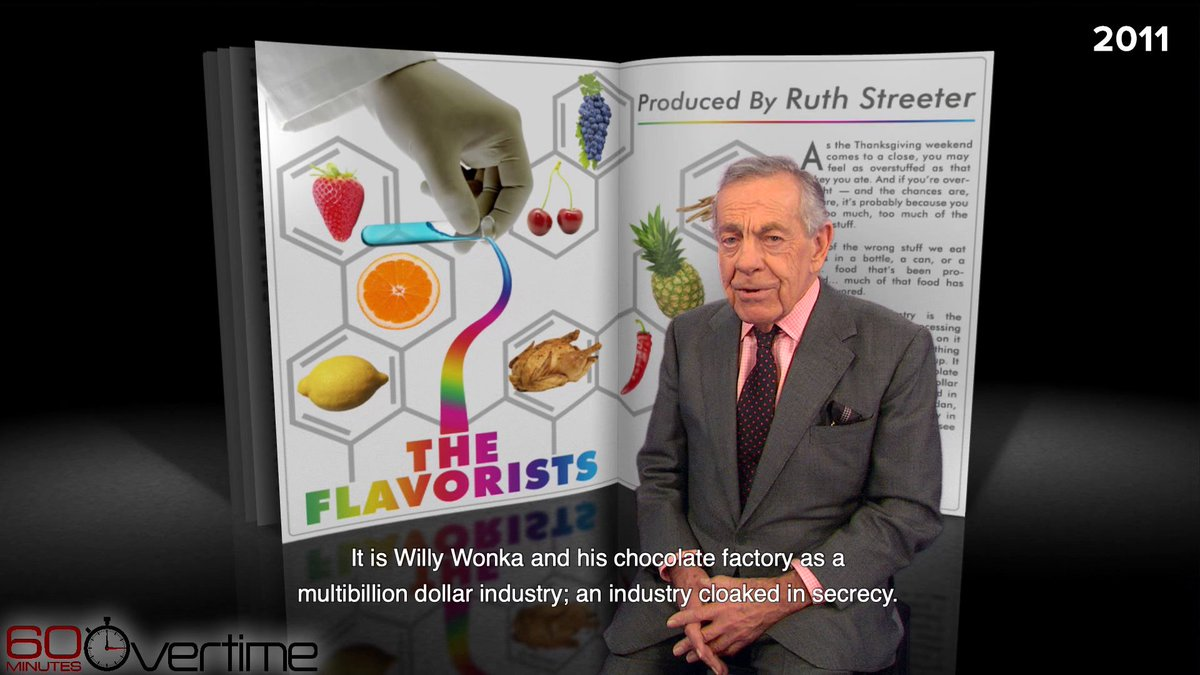Over Thanksgiving weekend 2011, Morley Safer reported on the multibillion dollar flavor industry, whose scientists create natural and artificial flavorings that keep you coming back for more.   More 60 Minutes Thanksgiving-themed segments here: