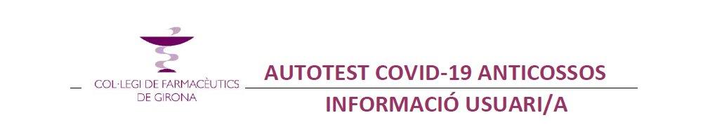 test Twitter Media - 🤔 Què és el test d'autodiagnòstic d'anticossos COVID-19? Informació per a l'usuari ✅Què cal saber d'aquest autotest? ✅A qui i quan està indicat? ✅On puc aconseguir l'autotest i on es realitza? ✅Com es fa la prova? Consulta el consell farmacèutic 👇  🔗https://t.co/a6pq612HFQ https://t.co/FnRI6jVode