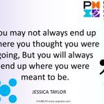 Did this week, month or year unfold as you thought? Our quote this week comes from British singer Jessica Taylor. https://t.co/JanMGmThso