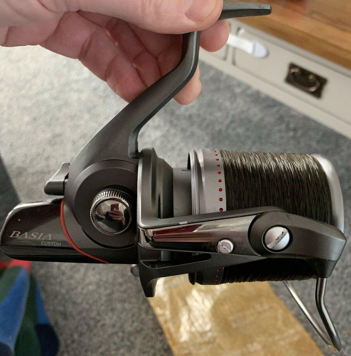 Ad - Daiwa Basia QD Custom Reels x3 On eBay here -->> https://t.co/KaW6DO7wl3  #carpfishing ht