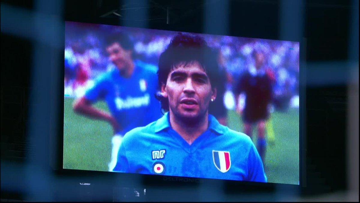 Napoli's Maradona Shirts 🇦🇷