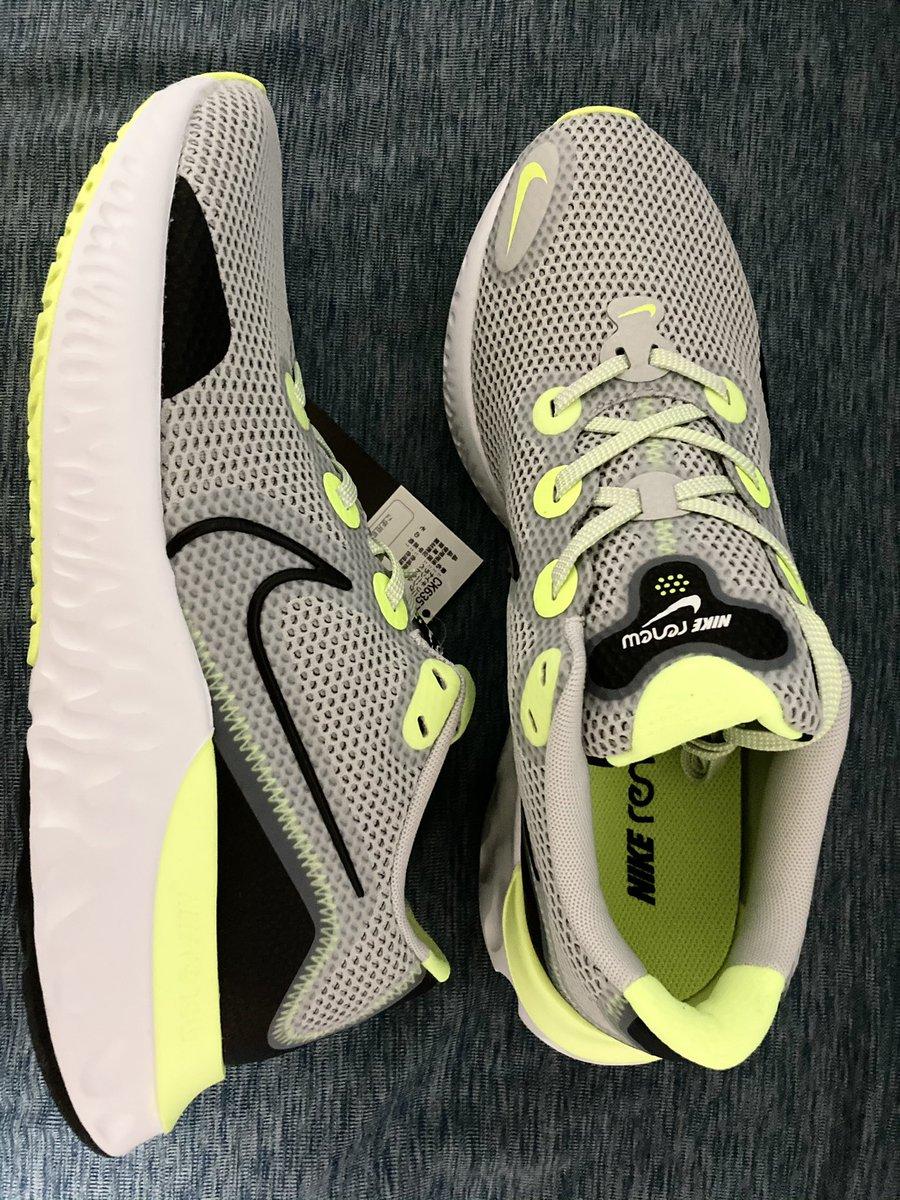 test ツイッターメディア - NIKE renew run 明朝からの散歩用シューズ👟 ポケモンGOの着せ替えアイテムには一切💰は掛けないけど日々歩く靴には¥は掛けます✨ 地味だったかなぁ😅 https://t.co/ScOdlSu6BO