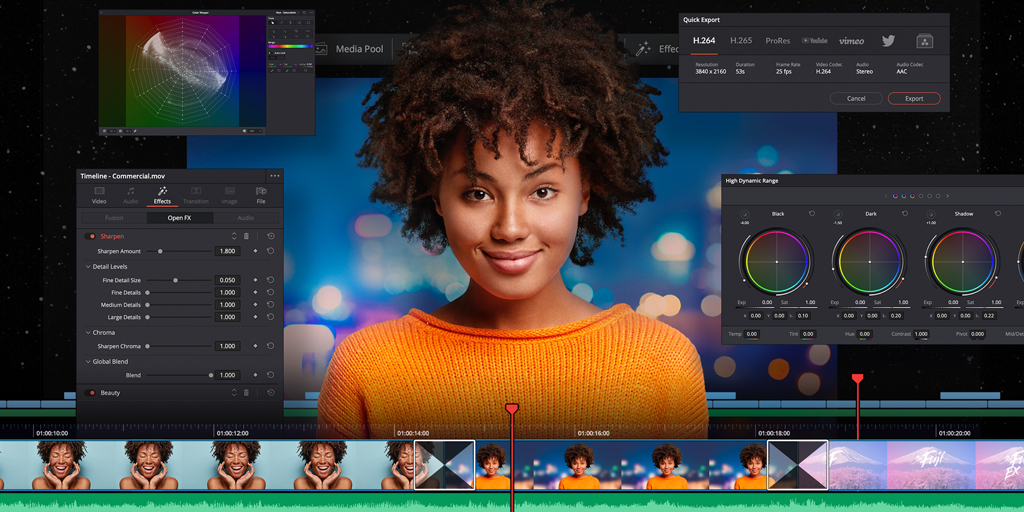 RT @Blackmagic_News: DaVinci Resolve 17.0 Public Beta 3 now available! Get over 50 performance and stability improvements including scroll…