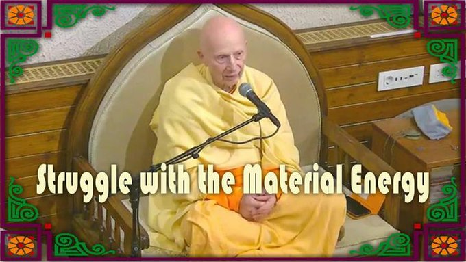 Struggle with the Material Energy (video)Evening classTopic: Struggle with the Material EnergyBy....