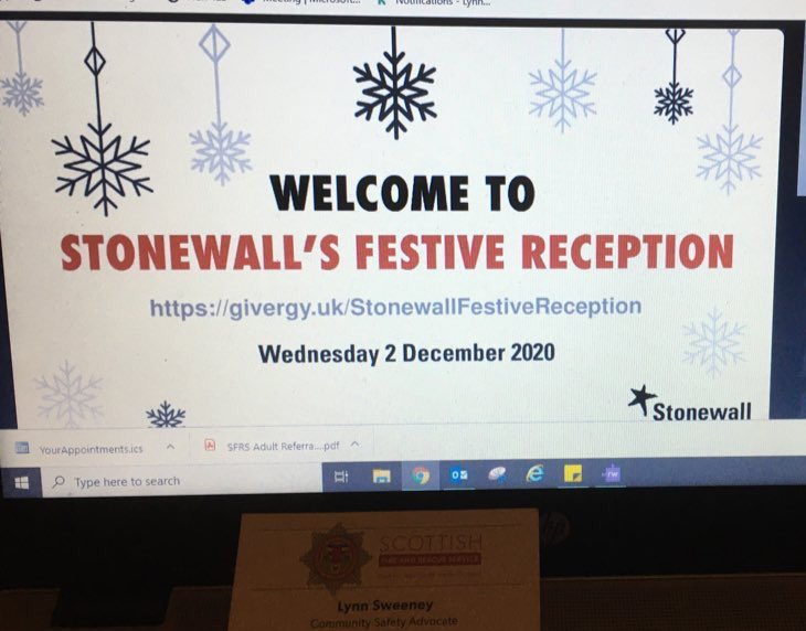 So excited to be part of @StonewallScot event tonight #LGBTQ #MentalHealthAwareness
