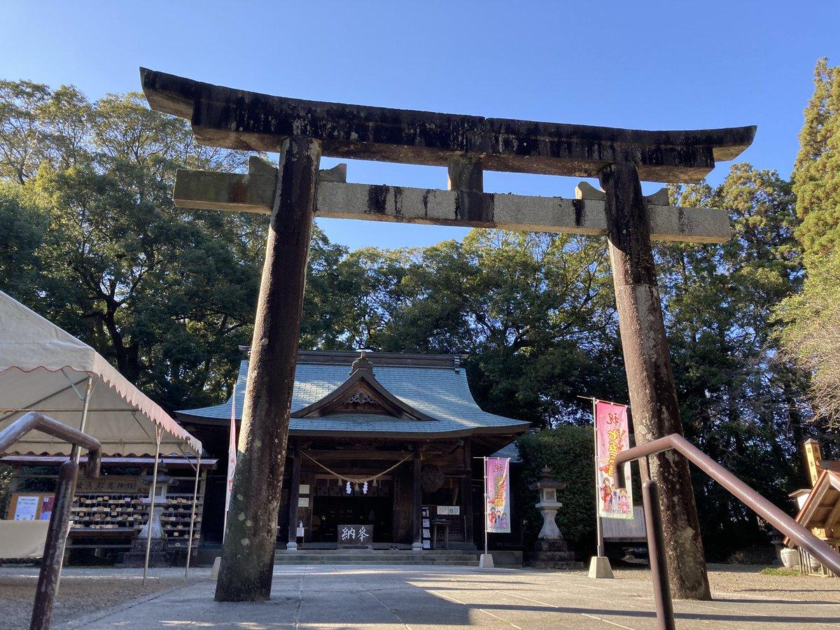 test ツイッターメディア - 都萬神社⛩  西都市に鎮座する日向二ノ宮の神社 周りがお堀になってて、中々広い境内  ここが日本清酒発祥の地なんやね😊🍶 https://t.co/wugDYbES4H