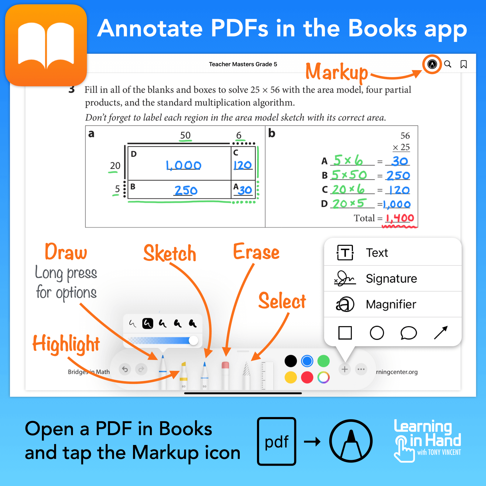 🔖 You can store PDFs in the Books app on your iPad and annotate them.  📚 Load up PDFs of teacher guides and student books so that you can call them up and write on them while mirroring or sharing your screen. #distancelearning https://t.co/udH8rQtEGk