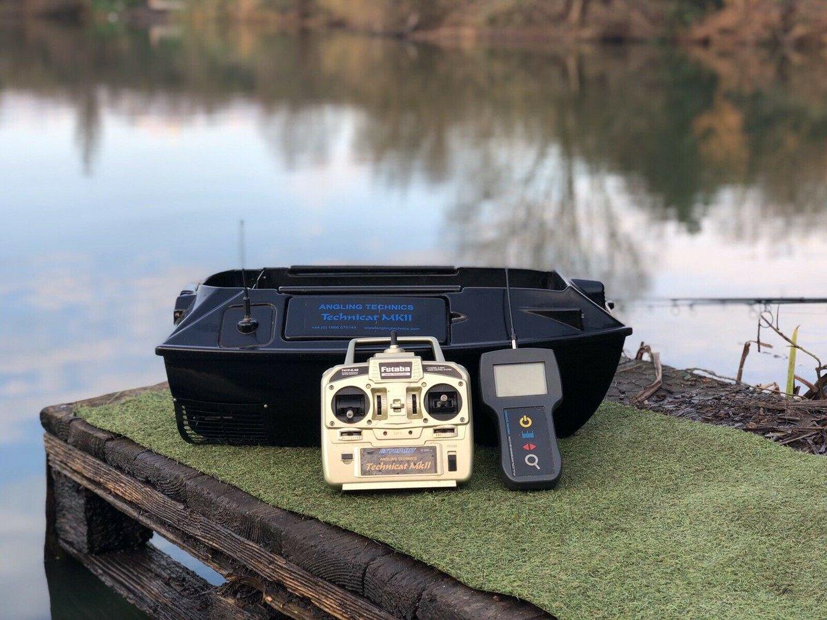 Ad - Angling Technics Technicat MK2 Bait Boat On eBay here -->> https://t.co/uEaSgA9tDA  #carp