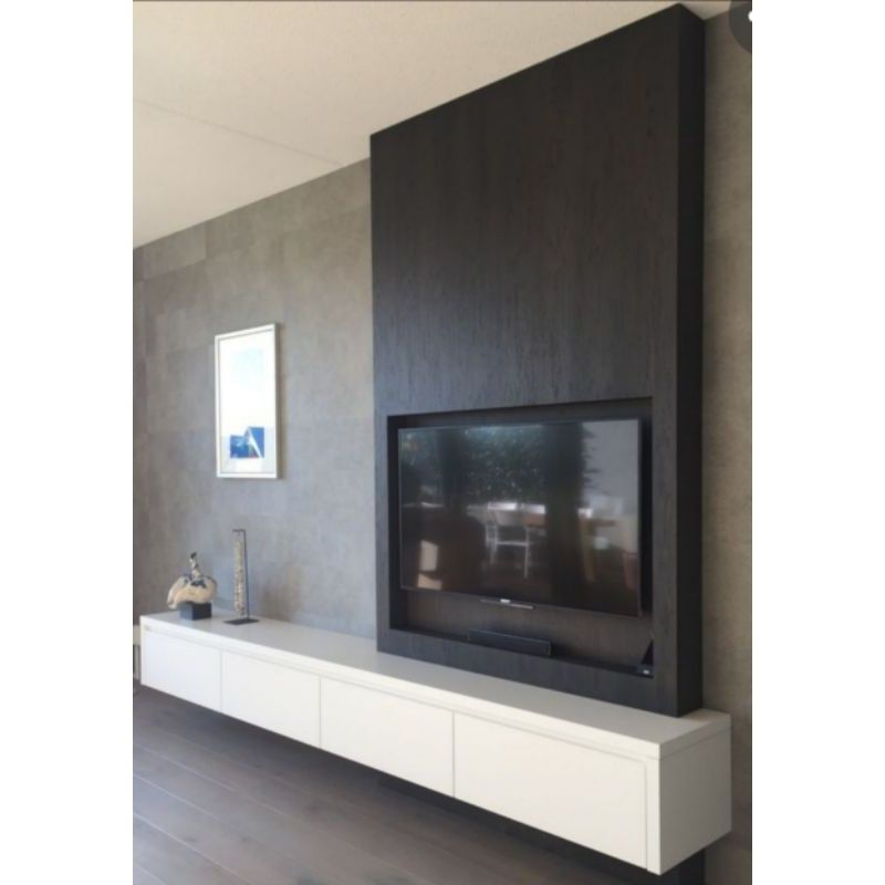 I'm selling TV Cabinet 7ft with black panel for RM1,850.00. Get it on Shopee...