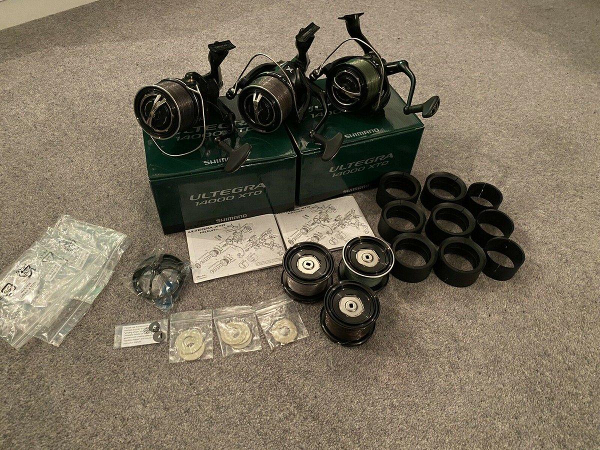 Ad - 3x Shimano Ultegra 14000 XTD Reels On eBay here -->> https://t.co/arVaOGpVDY  #carpfishin