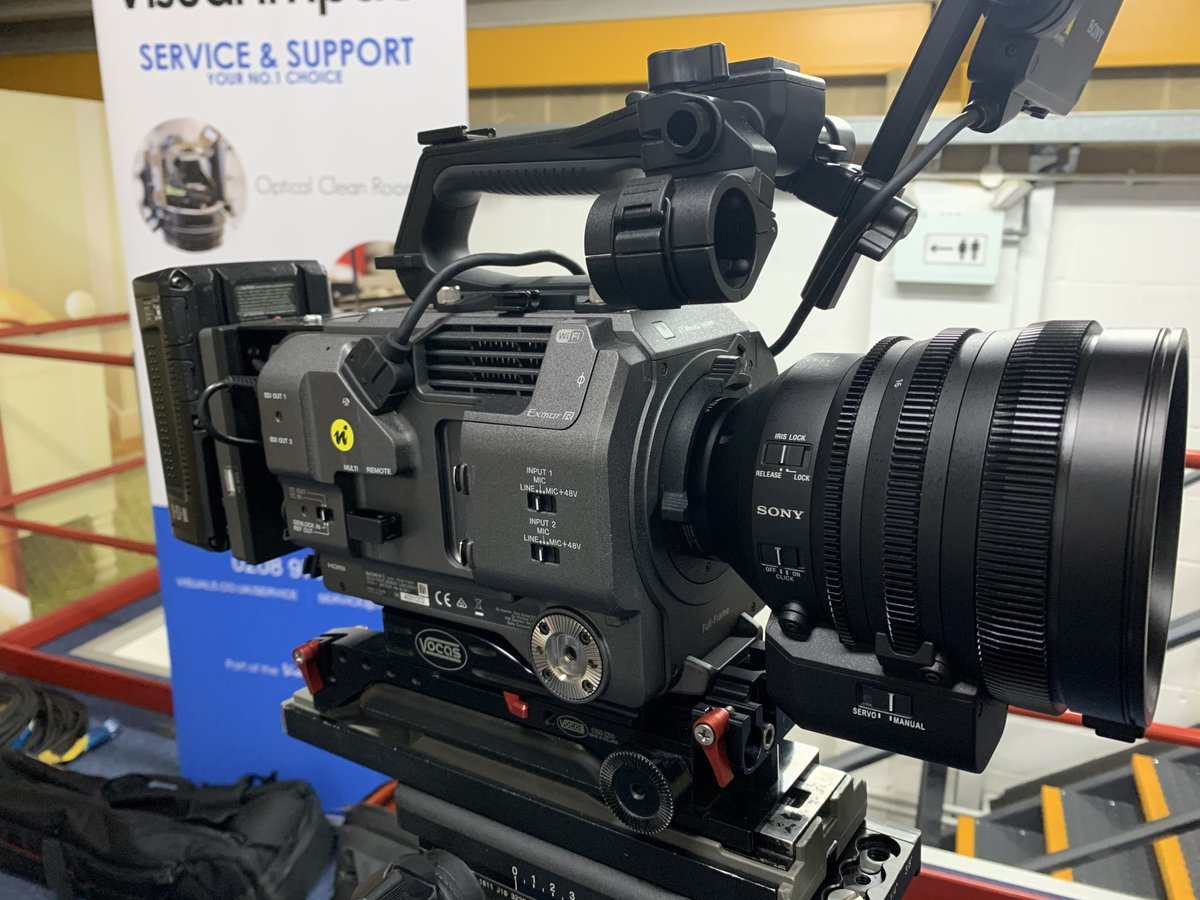 Customer demo under way for the new Sony FE C 16-35 mm T3.1 Cinema Lens.