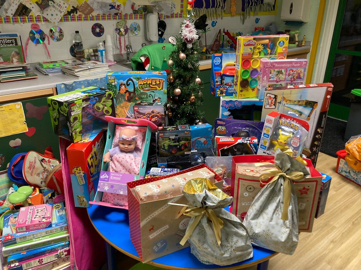 test Twitter Media - Some wonderful present donations to school. Thanks to @TescoSolihull and a very kind gift from one of our families. What fantastic Christmas spirit! https://t.co/23Fu4wMd3k