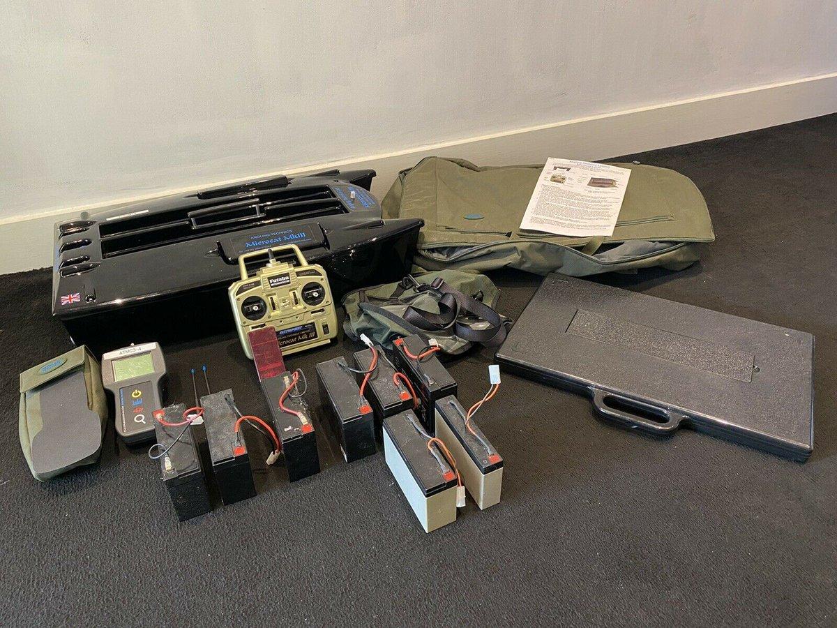 Ad - Angling Technics Microcat MK3 bait boat (Full Package) On eBay here -->> https://t.co/i0z