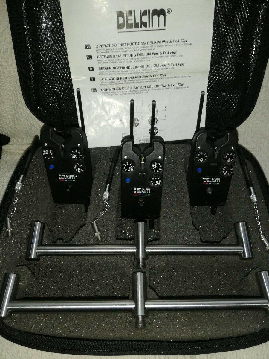 Ad - 3 DELKIM TXi PLUS ALARMS IN BLU & RX PRO RECEIVER On eBay here -->> https://t.co/Fgqt