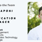 Please join us in welcoming Vito Raponi to our team as a Certification Manager. #volunteer https://t.co/tZxItPEEMH