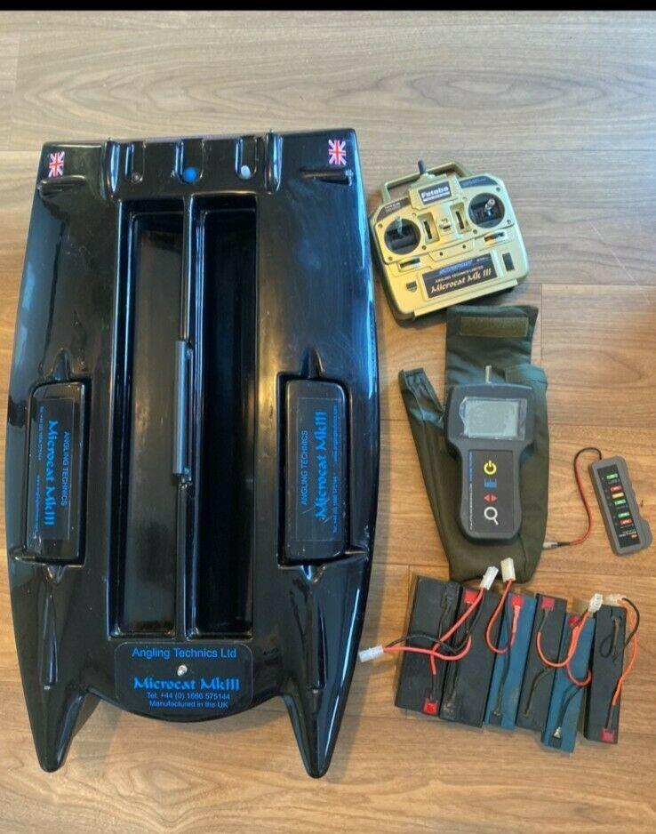 Ad - Angling Technics Micro Cat MK3 bait boat plus extras On eBay here -->> https://t.co/B1E34