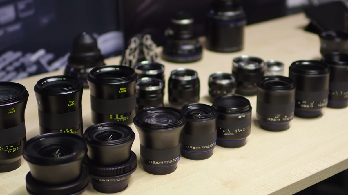 Take a look back at Luke from Zeiss showing us the extensive range of lenses for both photography and video that Zeiss offer including Milvus, Otus, Touit, Loxia, and CP.2s - All which are available at Visual Impact.