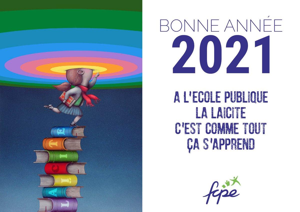 test Twitter Media - [Vœux 2021]. La FCPE souhaite une belle année 2021 aux parents, aux élèves, aux équipes éducatives et à toutes celles et ceux qui s'engagent au quotidien, pour faire vivre les valeurs de la République. https://t.co/sjOkOjEZbf