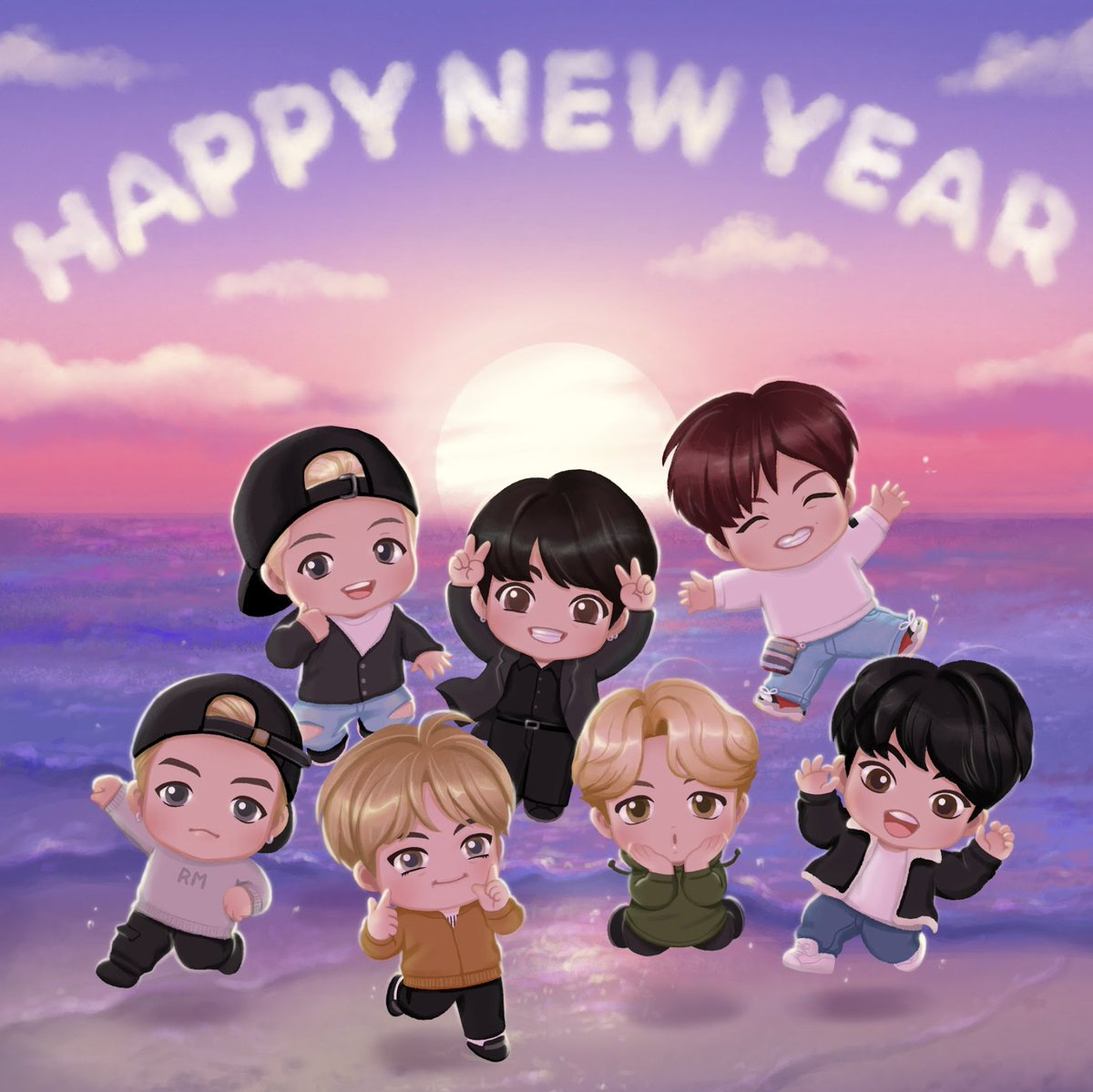 [#Behind_the_Magic_Door]  We know. Our 2021 will be brighter than ever!  #TinyTAN #Happy_New_Year