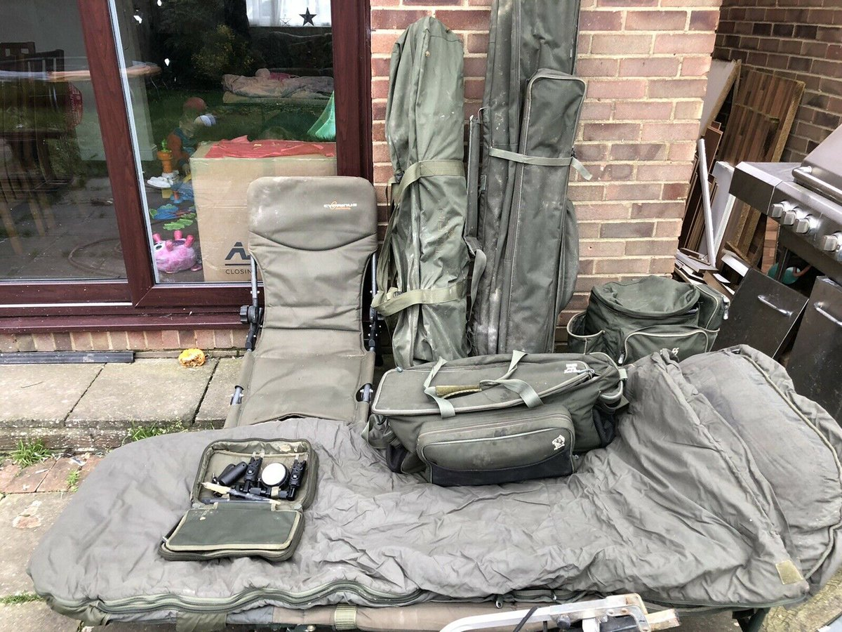 Ad - Complete Carp Fishing Set-Up For Sale On eBay here -->> https://t.co/WCly59etsN  #carpfis