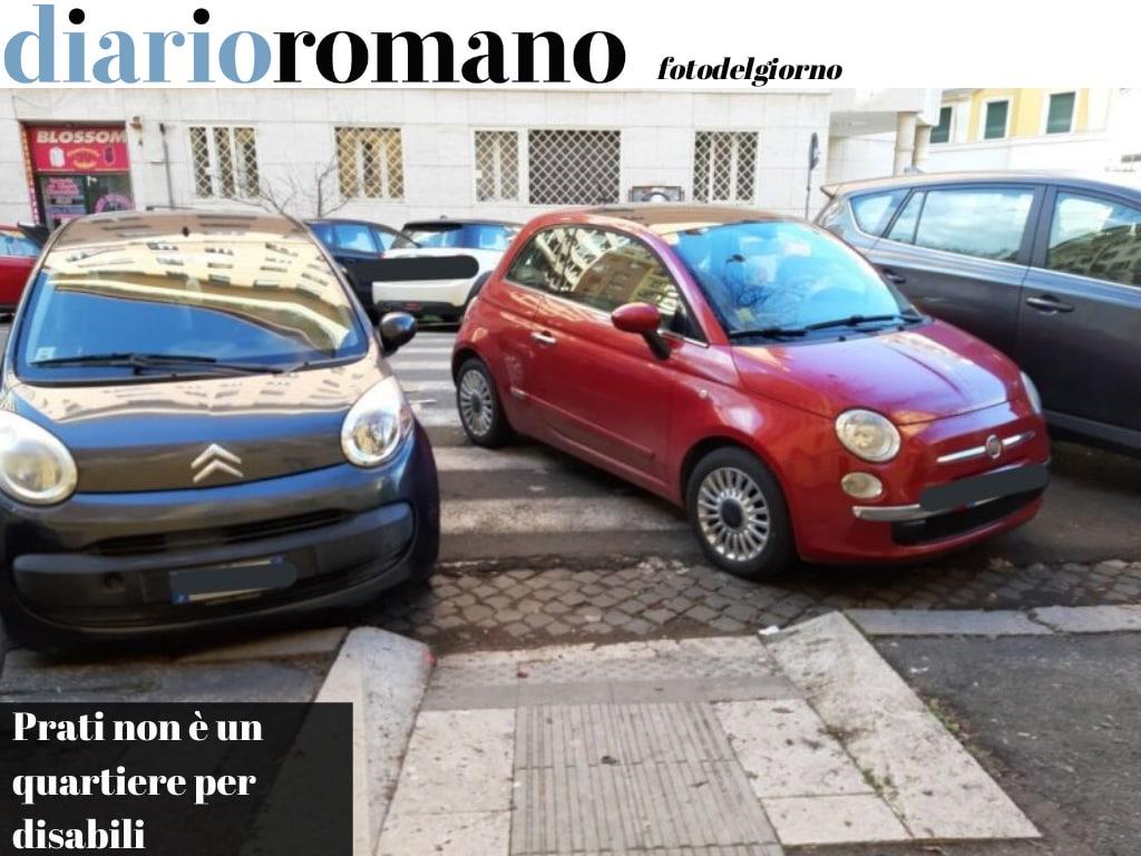 test Twitter Media - P.zza Strozzi, via Baiamonti, via Poma, via Borsieri. Scivoli sempre occupati da sosta selvaggia. Foto di Civilizziamo Roma del quale vi invitiamo a seguire la pagina Fb #Roma #fotodelgiorno https://t.co/1qzlni1PSI