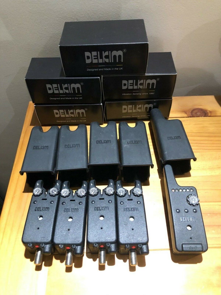 Ad - Delkim Txi-D bite alarms red led x4 &<b>Amp;</b> Rx-D receiver On eBay here -->> https://