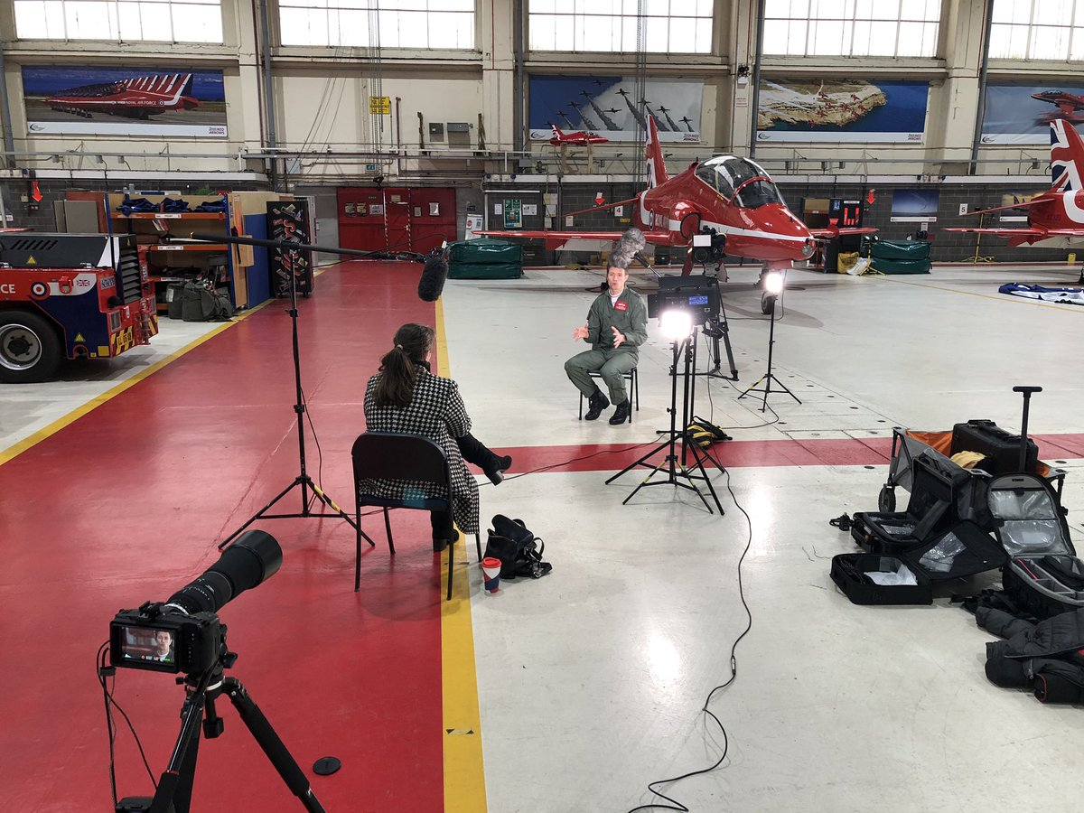test Twitter Media - At 6pm tonight on @itvcalendar, @emmawilkitv sits down with the @rafredarrows for a two part report, she talks with @RafRed1 about the last year with the #RedArrows, tune in for more https://t.co/6fxVFEiPsR