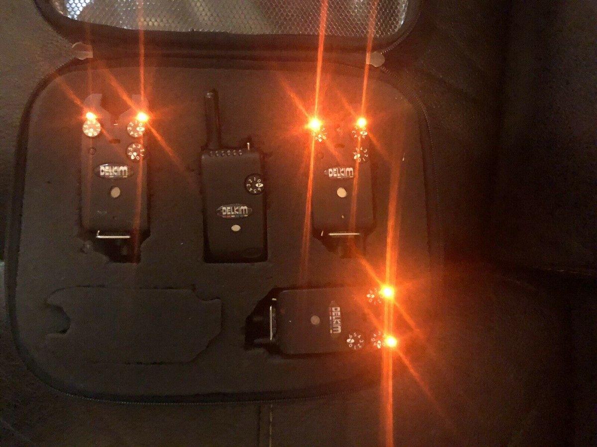 Ad - 3x Orange Delkim TXI Plus and receiver On eBay here -->> https://t.co/CfWdHQd3qw  #carpfi