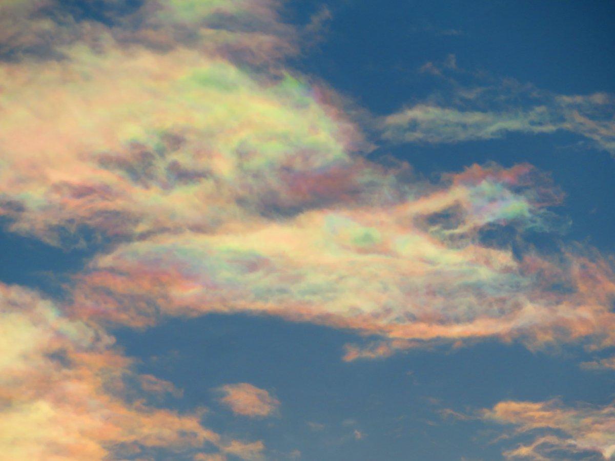 test ツイッターメディア - 彩雲がいました. https://t.co/rK8T2OQNdc