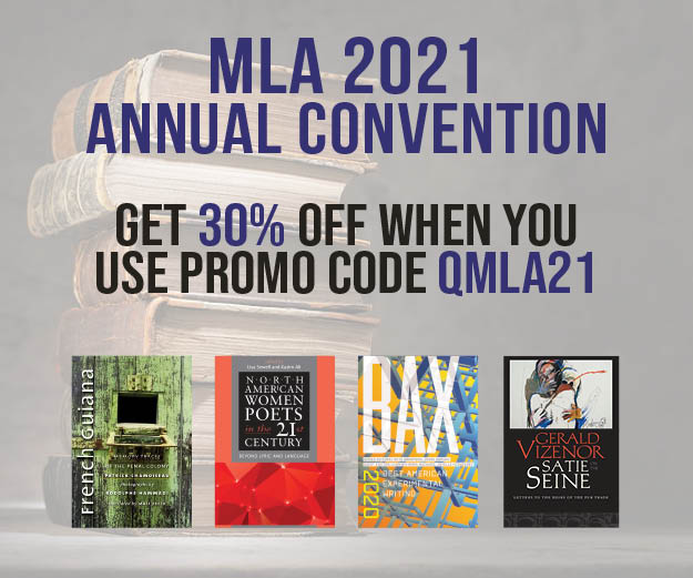 test Twitter Media - Take advantage of our #MLA21 discount! Visit our MLA page and look at some of our new and recent titles. #BlackScholarship #NewScholarship #Translation #AmericanPoetry #CanadianPoetry #CaribbeanPoetry #ExperimentalPoetry #BLM #Memoir #IndigenousLiterature  https://t.co/Tgeabgbxfm https://t.co/jLBtLMt830