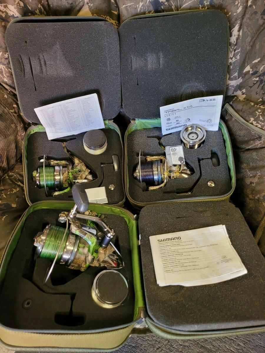Ad - Shimano Tribal 5500 XTA reels x3 On eBay here -->> https://t.co/A7lnWnPq9F  #carpfishing