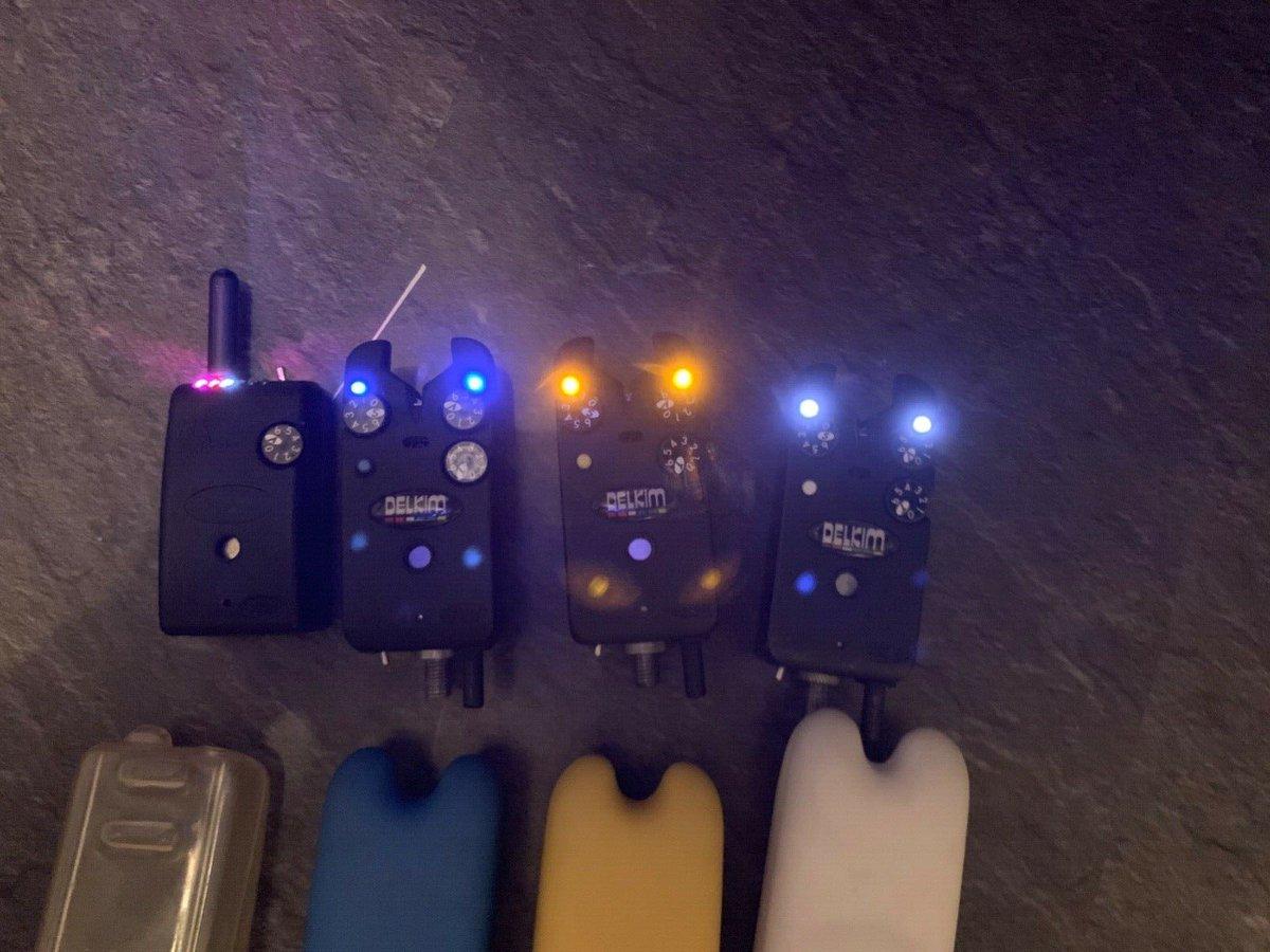 Ad - 3 x Delkim TXi Plus bite alarms & RX Plus Pro receiver On eBay here -->> https://t.co