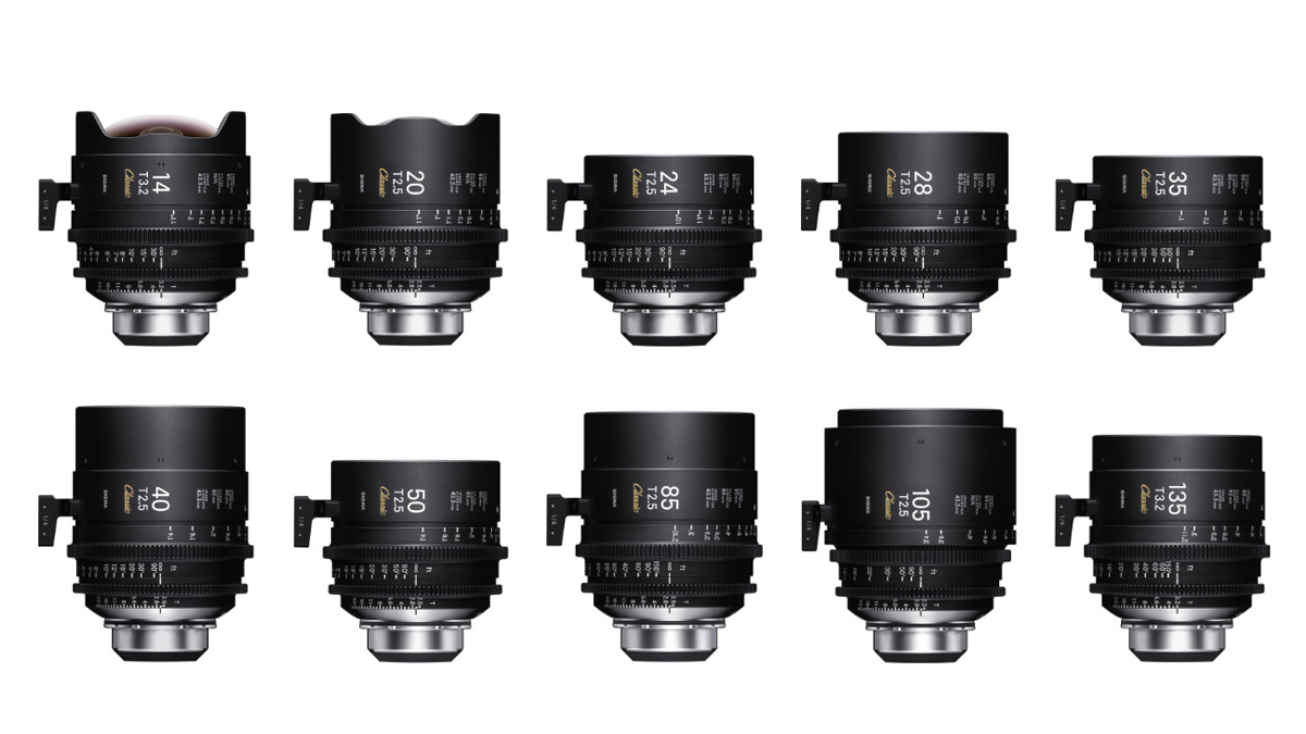 Sigma cine lenses - Now in stock at Visual Impact.