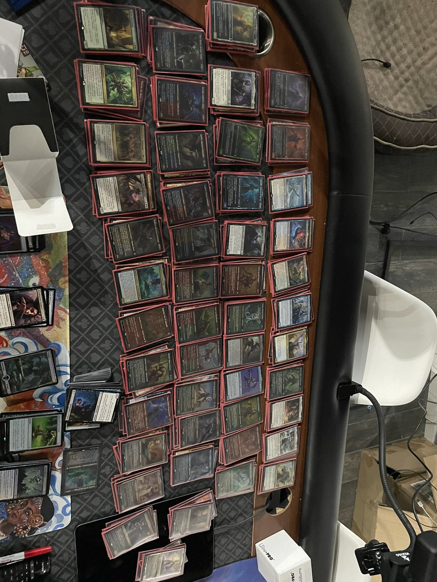 test Twitter Media - It has begun #edhcube #960sleeves https://t.co/JrgqmAP2Aa