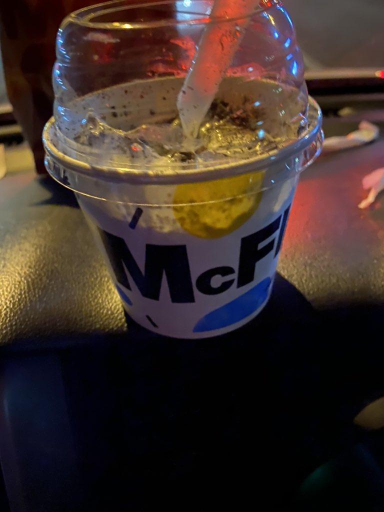 test ツイッターメディア - 無性に甘いもの食べたい時いつもマックフルーリー買ってしまう.. https://t.co/sVfc0IjIWC