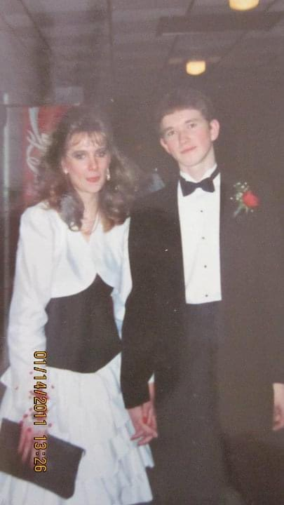 I turned the big 5-0h this week which means this wonderful lady and I have been together for almost 32 years! (dating, engaged, married)  picture is from 1989