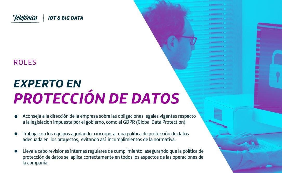 👩🏼💻👨🏼💻#HumanTechnology |   🤓🙄¿Conoces el papel que desempeña un experto en protección de datos en una organización?🔐  ✔️Obligaciones legales vigentes ✔️Políticas de protección de datos ✔️Cumplimientos de normativas  👁🗨Te contamos su importante papel en la compañía⤵️ https://t.co/vgTykni7Fp