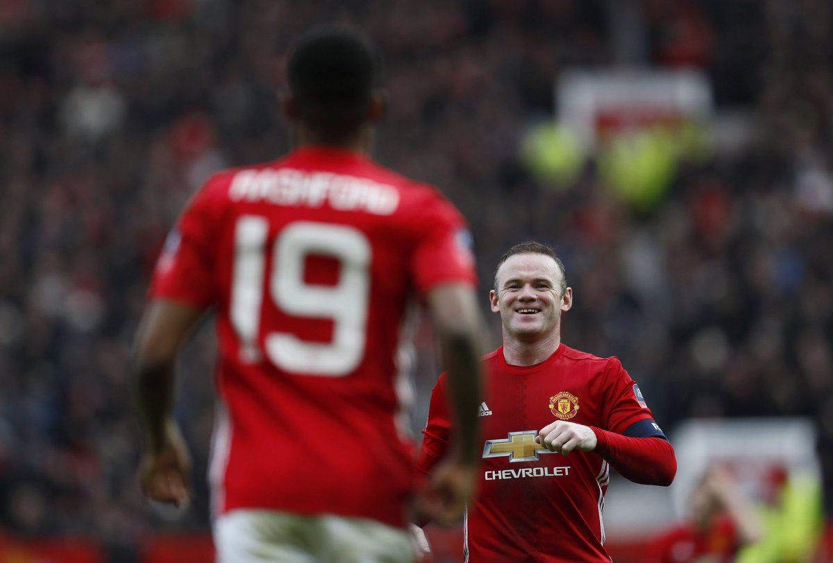 To one of the greatest. It was a dream come true to play alongside you. Congrats on the most unbelievable career. The 🐐 Happy Retirement @WayneRooney ♥️