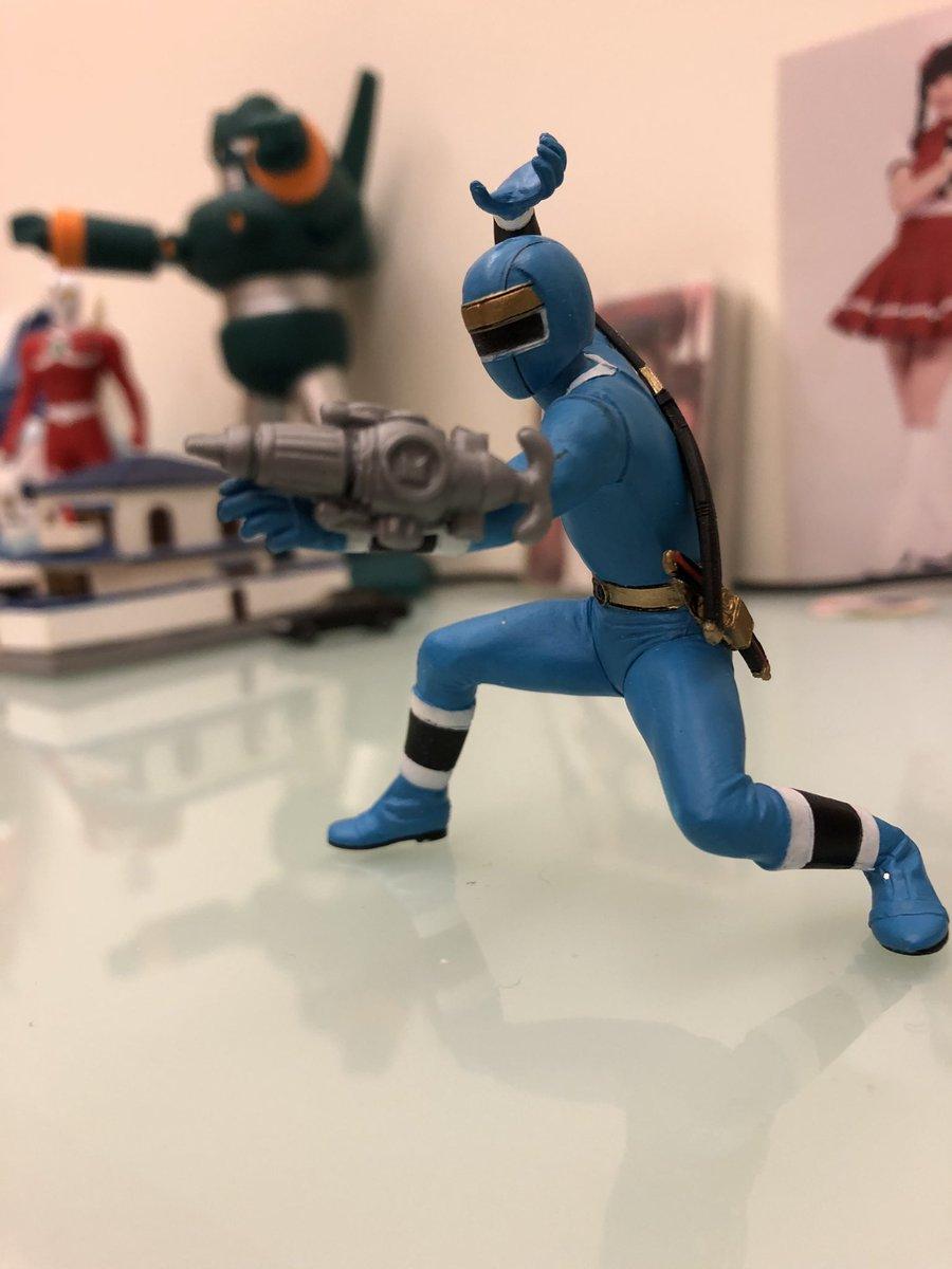 test ツイッターメディア - 💧ブルーショット💧~  🟦ニンジャブルー 🟦的專用水槍  #カクレンジャー #忍者 #忍者戦隊カクレンジャー  #忍者戦隊 #スーパー戦隊シリーズ #スーパー戦隊 #戦隊 #戦隊ヒーロー  #フィギュア撮影友の会  #フィギュアーツ  #フィギュア #blueranger  #MightyMorphinAlienRangers #AlienRanger https://t.co/v9lsXLL2y0