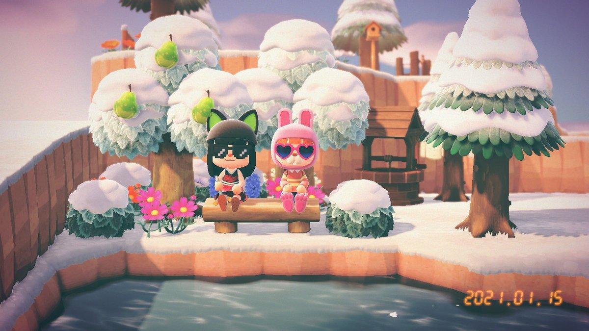 test ツイッターメディア - #どうぶつの森 #AnimalCrossing #ACNH #NintendoSwitch さっちゃんと久しぶりのあつ森した!! めっちゃ楽しかった~またやりたいな https://t.co/RzRnOCNLPy