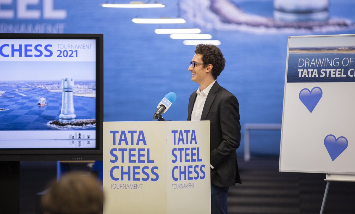 test Twitter Media - RT @tatasteelchess: ♟💙 | All smiles before the start of the #TataSteelChess Tournament! https://t.co/LB2kUAwsRe