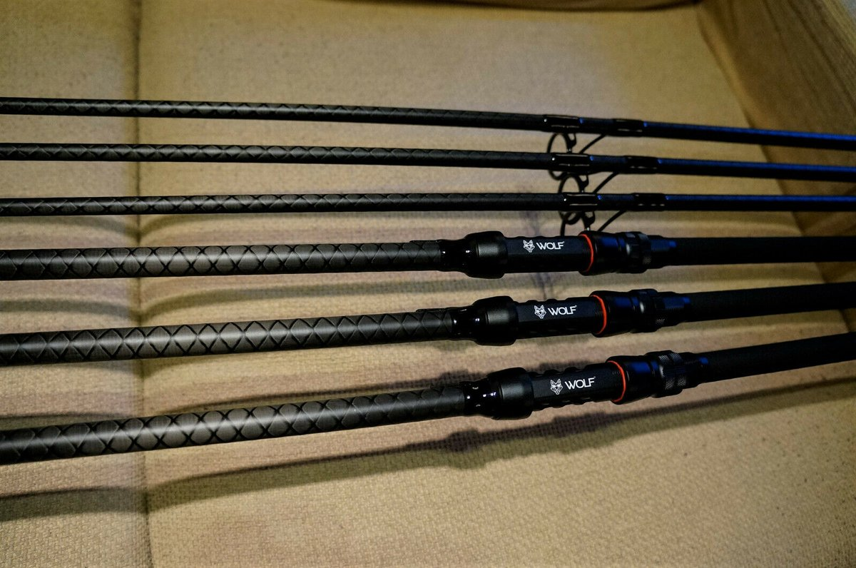 Ad - Wolf X Distance Extreme <b>12ft</b> 50mm Carp Rods x3 On eBay here -->> https://t.co/KUKF