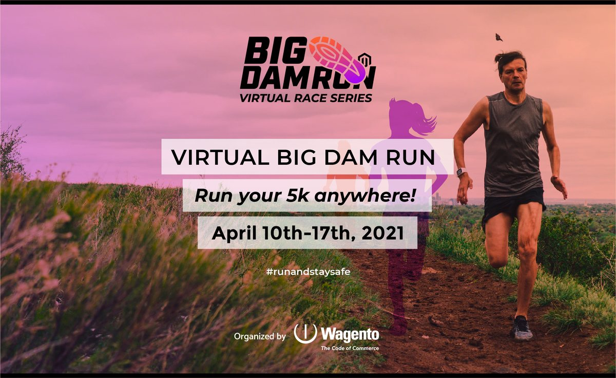 bigdamrun: 71 DAYS! Take part in this 5K tradition before the Magento Imagine (now @AdobeSummit) conference! #BDR2021 https://t.co/Qt4d9Eddu6