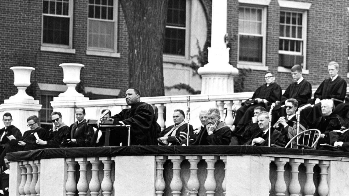 "test Twitter Media - ""The time is always right to do what is right.""  We are honored to have hosted Rev. Dr. Martin Luther King Jr. four times during his lifetime, including visits in 1962, 1963, 1964 and 1966. His words are inspirational and as true today as they were then. https://t.co/ajTlfcm88b"