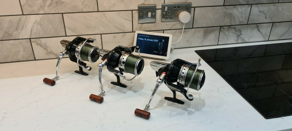 Ad - Daiwa Tournament ISO GD 5000 x3 With Spare Spools On eBay here -->> https://t.co/w0mYYQIk