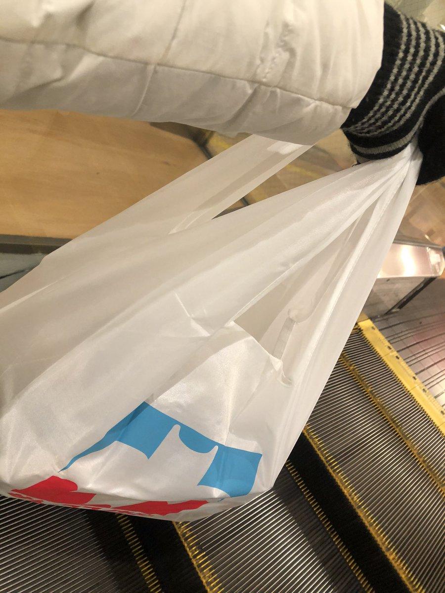 test ツイッターメディア - サトーココノカドーのエコバッグを使ってみた〜😊パッと見、ちゃんとヨーカドーのレジ袋みたいで可愛い〜❤ https://t.co/7mpqzCBGdX